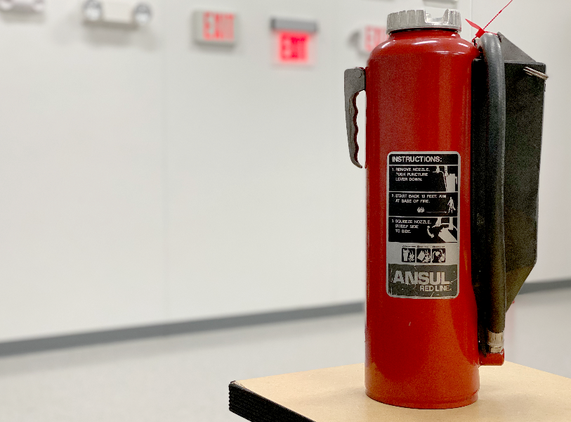 Types of extinguishers and their uses